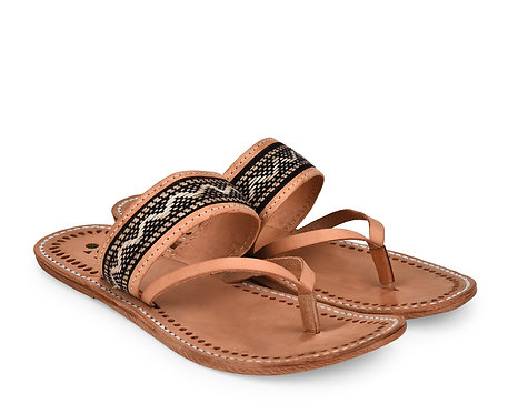 Tribal Leather Sandals