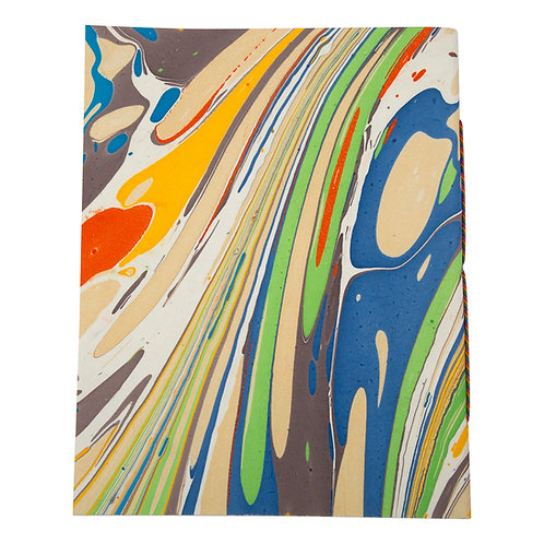 Marbled Flexi Cover Paper Journal