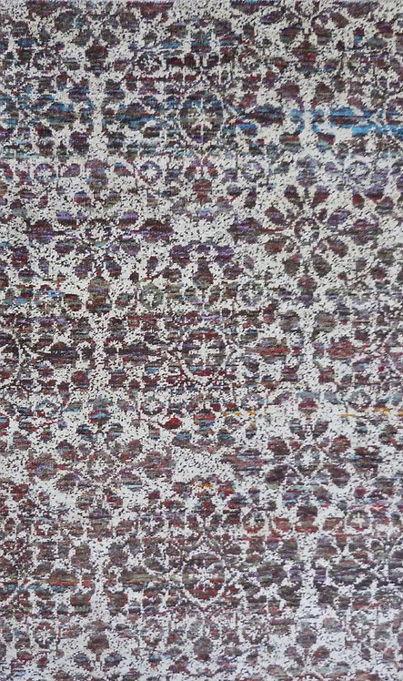 Hand knotted Recylced Silk Carpet
