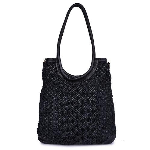 ANV 003 Tote Bag Macrame Design