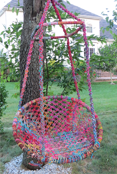 Iron Swing Chair