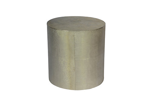 Metal Covered Round Table