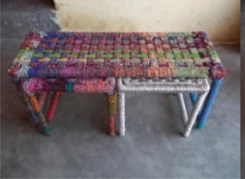 Iron Bench Set of 3