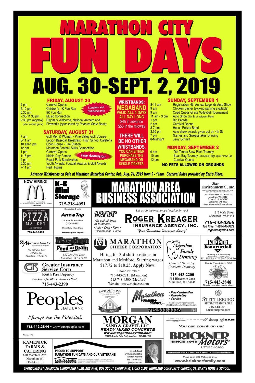 Location: 209 4th St, Marathon City, WI 54448