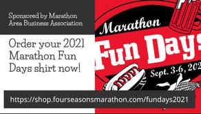 2021 Marathon Fun Days T-Shirts