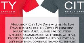 MABA No Fun Days T-Shirt Fundraiser for American Legion