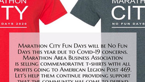 MABA No Fun Days T-Shirt Fundraiser for American Legion