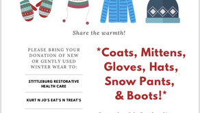 Community Winter Wear Clothing Drive