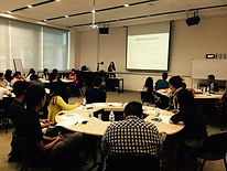 Workshop for students on building confidence, resilience, self-esteem and positive psychology practices at the Singapore Institute of Management