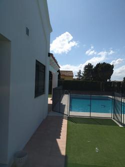 Removable Pool Safety Fence, Estepona