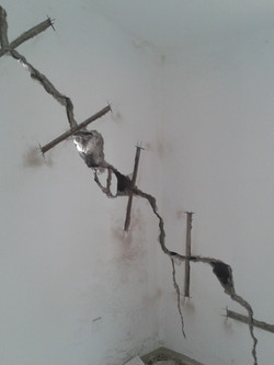 Bracing of Walls Underpinning