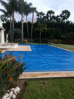 Triple Cell Solar Pool Cover