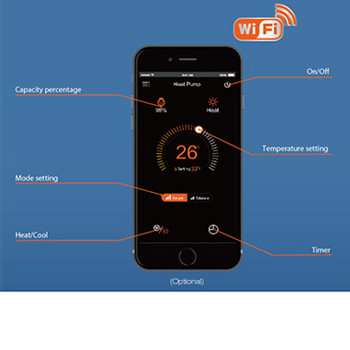 Control you Pool Heating by Phone APP