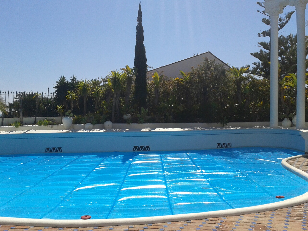 Pool Cover of 87 square metres!