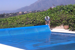 600 micron solar pool cover