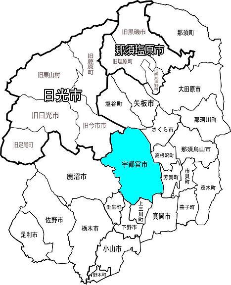 宇都宮市配布エリアマップ