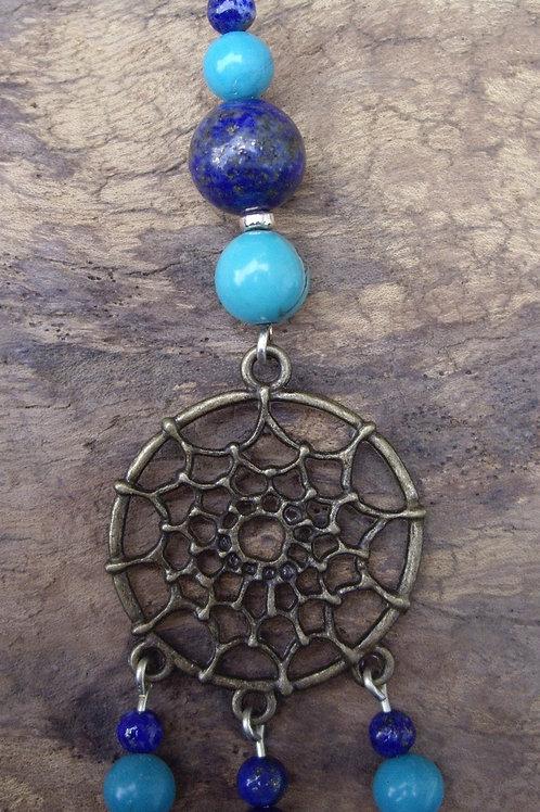 Attrape-rêve – Lapis-lazuli - Turquoise