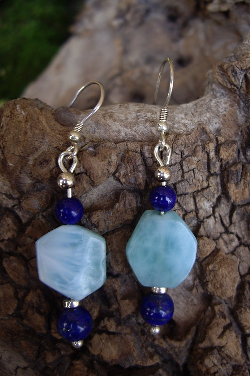 Larimar - Lapis-lazuli P 4 et 6