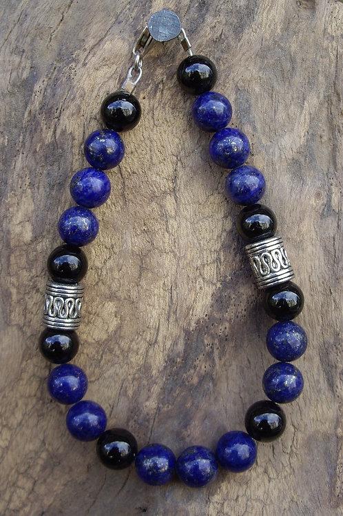 Lapis-lazuli - Tourmaline noire – P8