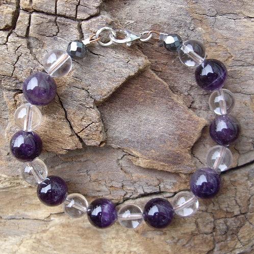 Améthyste – Cristal de roche – P10