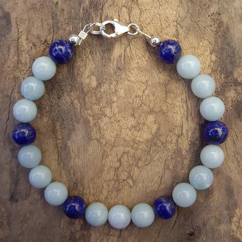 Amazonite – Lapis-lazuli – P8