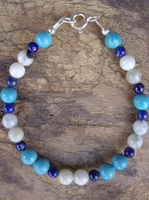 Jade - Lapis-lazuli - Turquoise 4 et 6 mm