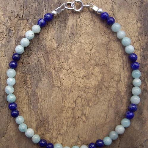 Amazonite – Lapis-lazuli – P4