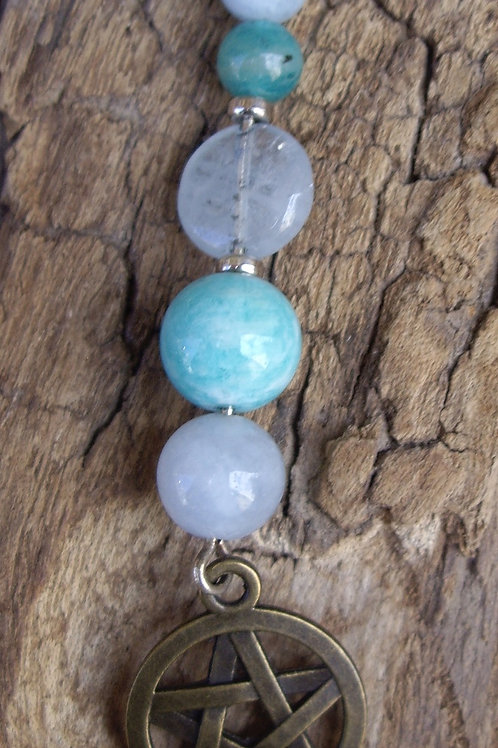 Etoile de David – Aigue-marine - Amazonite