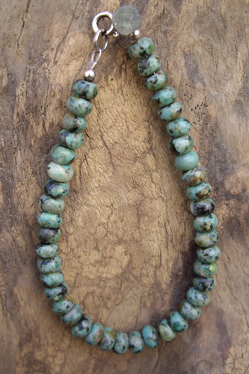 Turquoise africaine – rondelle