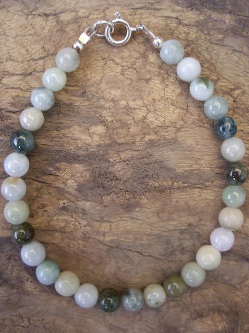Jade serpentine 6 mm