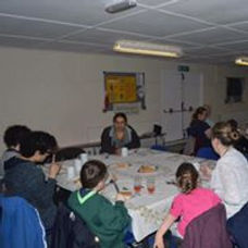 75th Nottingham Scouts at Sycamore Dinng