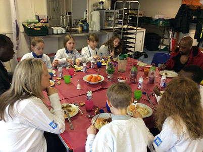 Blue Bell Hill primary school Community Rangers at Sycamore Dining