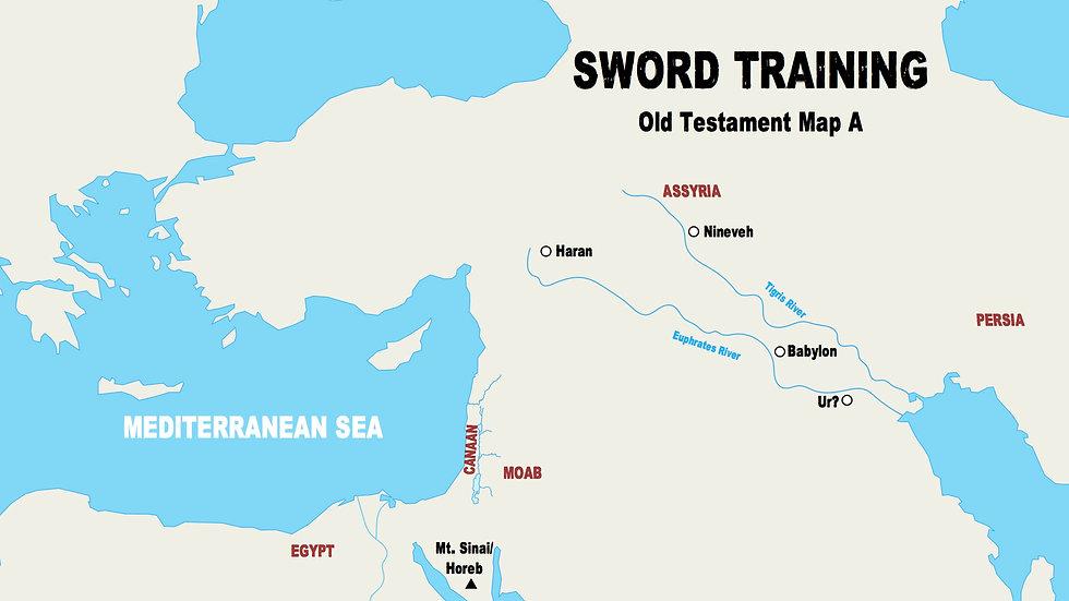 Old Testament Teacher Maps