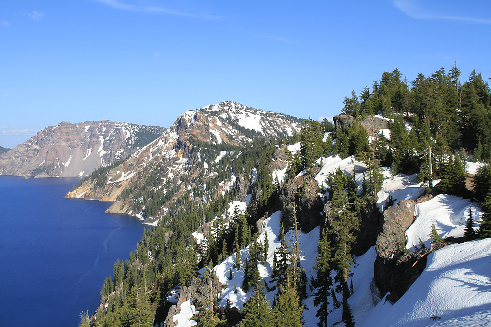 Crater Lake, Oregon. Easily the most breathtaking view I've seen.