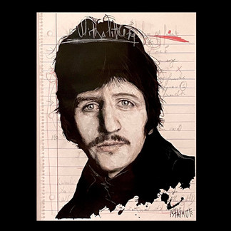 Notebook: Ringo (With A Little Help From My Friends)