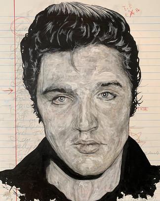 Notebook: Elvis (Love Me Tender)