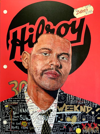 Cahier Hilroy The Weeknd