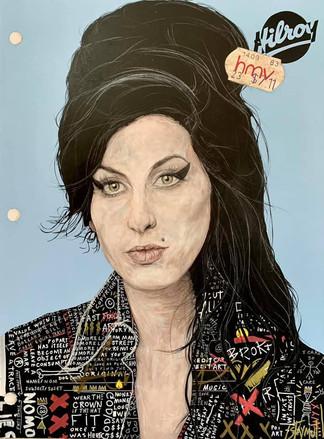 Hilroy's Notebook: Amy Winehouse (HMV)