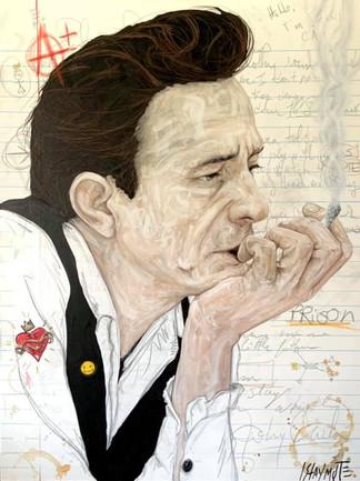 Notebook: Johnny Cash (Folsom Prison)