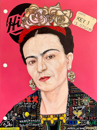Hilroy's Notebook: Frida (Magenta)