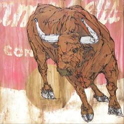 Toro en Caja