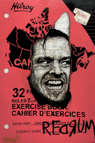 Cahier Canada: Jack (Redrum) 36X24