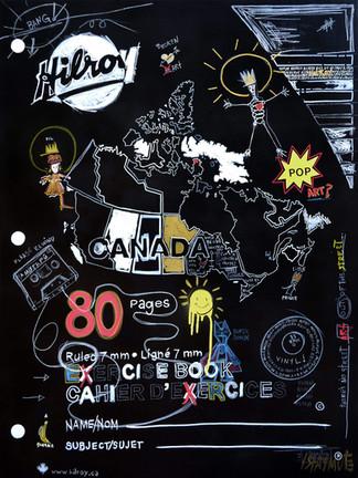 Cahier Canada: Doodles