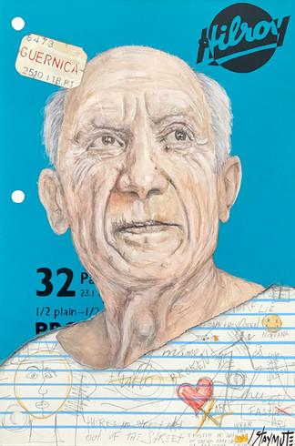 Hilroy's Notebook: Picasso (Cahier Bleu)