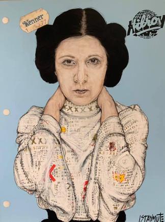 Cahier Hilroy: Princesse Leia