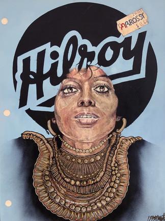 Cahier Hilroy Diana Ross (You Keep Me Hangin' On)