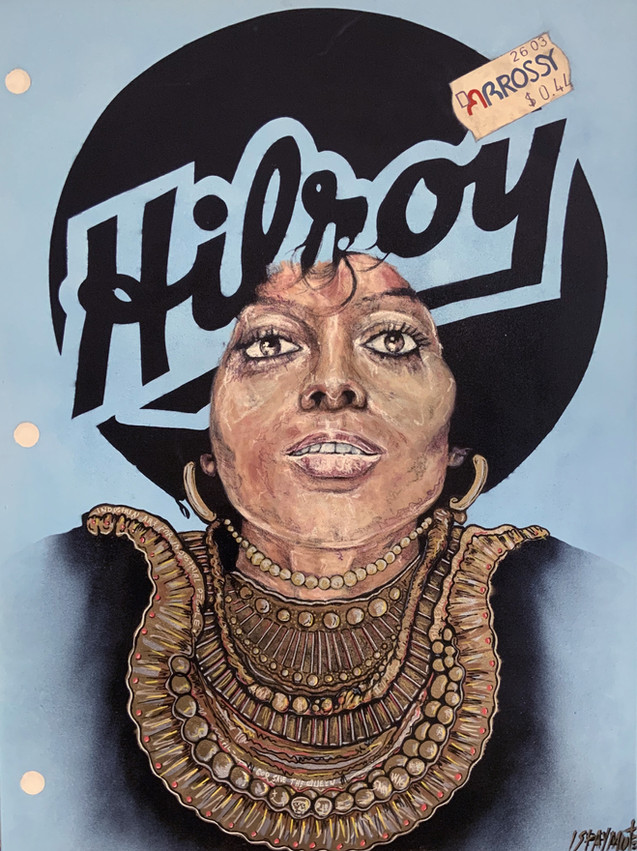 Cahier Hilroy Diana Ross (You Keep Me Hangin' On)