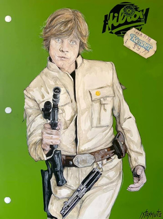 Cahier Hilroy: Luke Skywalker