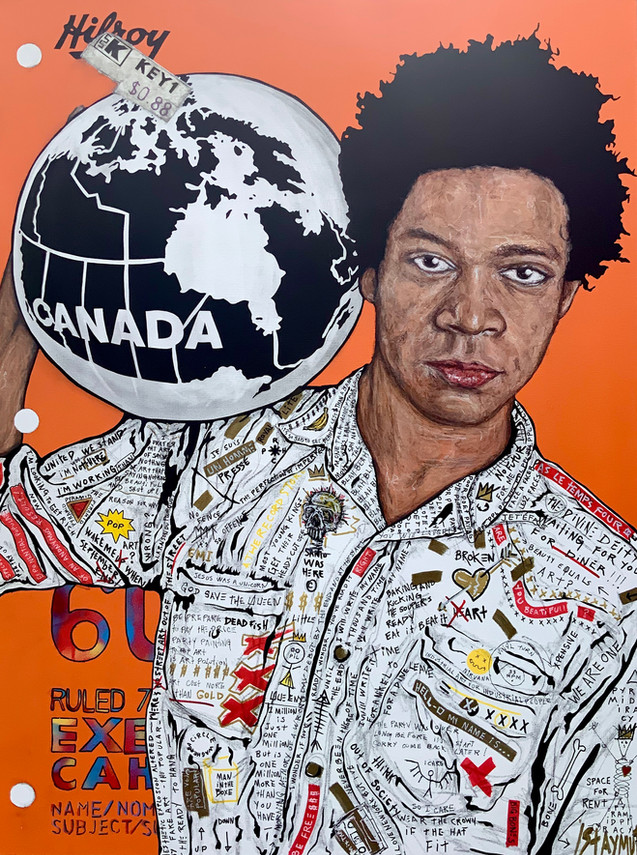 Basquiat The World Hilroy (Cahier Canada)