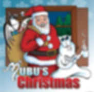 Mubu's Christmas book cover